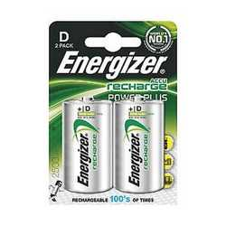 Pila al nichel metal idrato torcia D Energizer Recharge