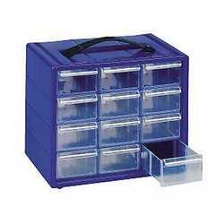 Cassettiera 12 cassetti blu 220 x 150 x 180 mm