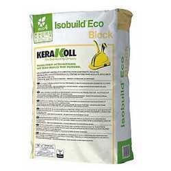 Collante rasante calcestruzzo cellulare Kerakoll Isobuild Eco Bl