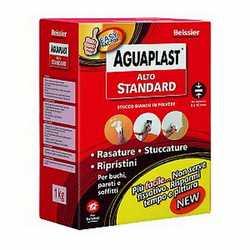 Stucco in polvere Aguaplast Alto Standard 1 kg