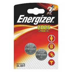 Pila Litio CR2025 Energizer a bottone