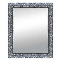 Specchiera Matteo argento 68 x 88 cm