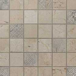 Mosaico Badges cream 30X30 beige