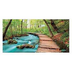 canvas Sentiero nel bosco 70x140