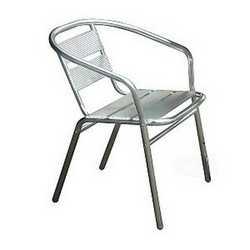Sedia impilabile alluminio