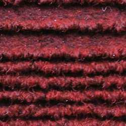 Passatoia al taglio Eco-Stripe rosso 65 cm al m
