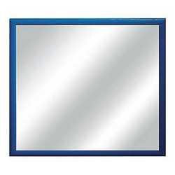 Specchiera Bomber blu 54 x 54 cm