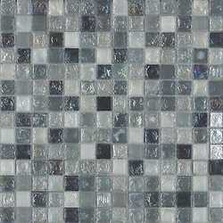 Mosaico Ice mix smoke 30 x 30 nero, grigio