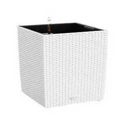 Vaso Cubico Cottage 40 x 40 cm bianco
