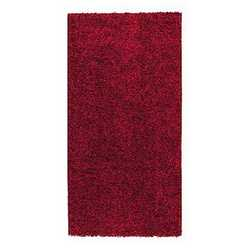 Tappeto Curly rosso 150 x 220 cm