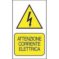 Targa corrente elettrica