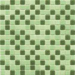 Mosaico Classic mix green 30 x 30 verde al mq