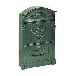 Cassetta postale Regie verde 25,5 x 8,3 x 41 cm
