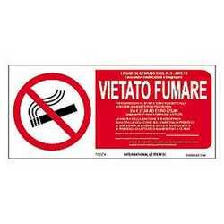 Targa vietato fumare