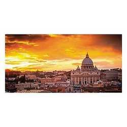 canvas Roma vista 140x70