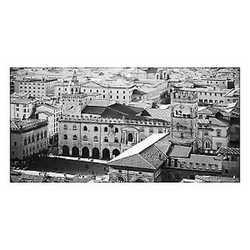 canvas Bologna vista B&W 70x140