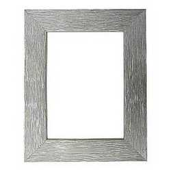 Cornice color argento 30 x 40 cm