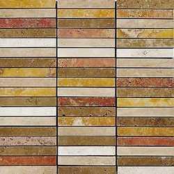 Mosaico Stick 30 x 30 rosso verona
