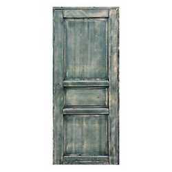 Porta da interno battente Old Town verde sbiancato 70 x H 210 cm