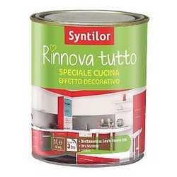 Vernice multi superfici Rinnova Cucina Syntilor trasparente opac