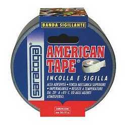 Nastro adesivo American Tape grigio 10 m x 50 mm