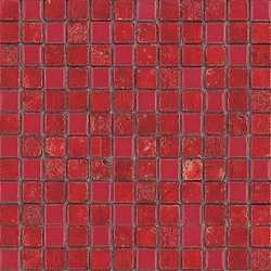 Mosaico Lacca rossa 23 30 x 30 rosso
