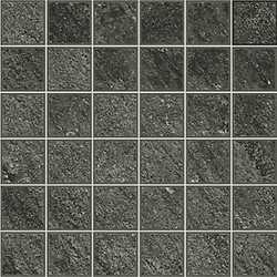 Piastrella con decoro Discovery carbon nero 30 x 30 cm
