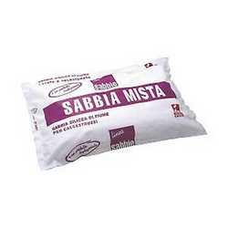 Sabbia silicea mista 25 kg