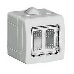 Contenitore da parete Idrobox IP55 2 moduli
