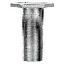 Bullone testa esagonale in acciaio zincato, M8 x 16 mm al kg