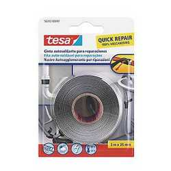 Nastro autoagglomerante butyl tape Tesa nero 3 m x 0 mm