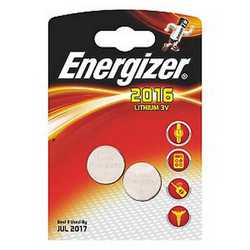 Pila Litio CR2016 Energizer a bottone
