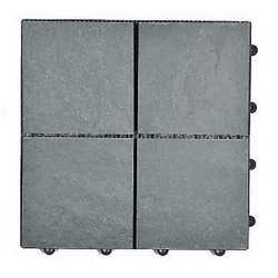 Piastrella 30 x 30 cm x 28 mm grigio