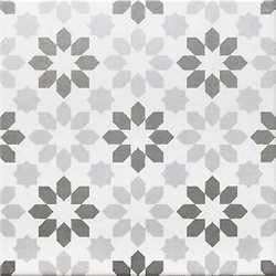 Piastrella Gatsby 20 x 20 Mix Grigio/Bianco al mq