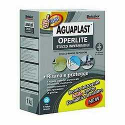 Stucco in polvere Aguaplast Operlite 1 kg