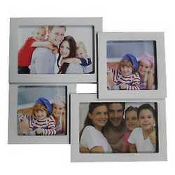 Cornice multifoto bianco 28 x 26 cm 4 foto