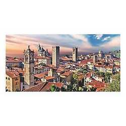 canvas Bergamo veduta 60x120