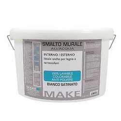 Smalto murale bianco Make 100% lavabile 5 L