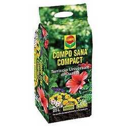 Terriccio Compo Sana Compact Compo 25 L