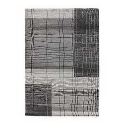 Tappeto Gabbe grigio nero 200 x 300 cm