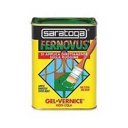 Smalto per ferro antiruggine Saratoga Fernovus grigio medio meta