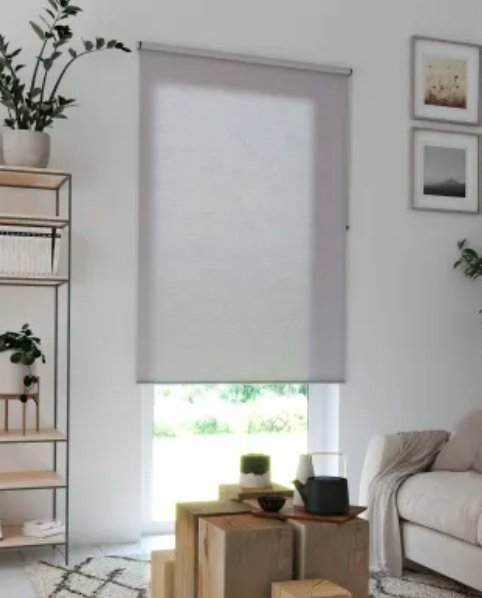 Tenda a rullo INSPIRE Madrid grigio granito 45x250 cm