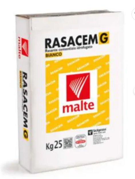 Rasante in pasta Rasacem G bianco 25 kg