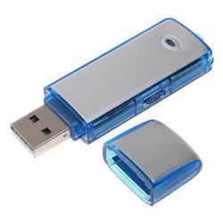 Pen-drive usb 8Gb mini micro registratore vocale audio spia cimi