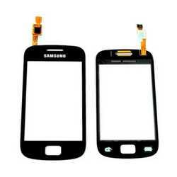 Vetro touch screen con biadesivo per display Samsung GALAXY MINI
