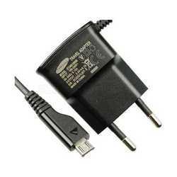 Carica batteria alimentatore da rete originale per SAMSUNG S3 S4