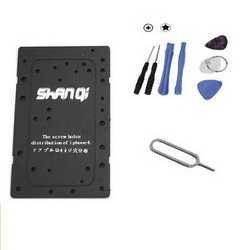 Kit smontaggio tools apri scocca per iPhone 4 ventosa torx cacci