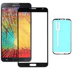 Vetro touch screen per display Samsung Note 3 N9005 con biadesiv