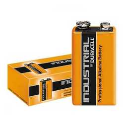 Pile batterie Duracell industrial alcaline procell transistor 9v