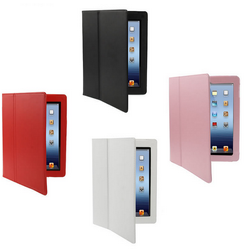Custodia cover per iPad 2 in pelle leather